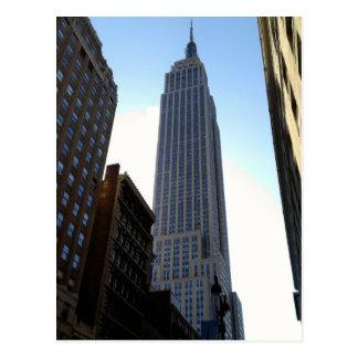 Cartão de Manhattan New York do Empire State