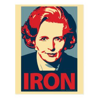 Cartão de Margaret Thatcher