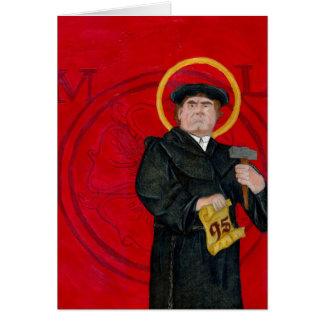 Cartão de Martin Luther