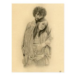 Cartão de Mary e de Joseph Cartão Postal