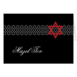 Cartão de Mazel Tov