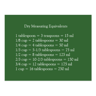 Cartão de medição seco dos equivalentes