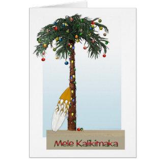 Cartão de Mele Kalikimaka