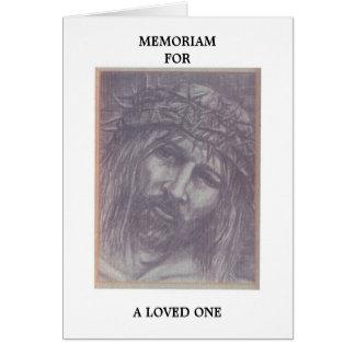 Cartão de Memoriam