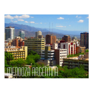 Cartão de Mendoza Argentina