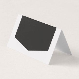 Cartão De Mesa Adicione seus próprios luz do texto e cinza escuro