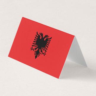 Cartão De Mesa Bandeira de Albânia