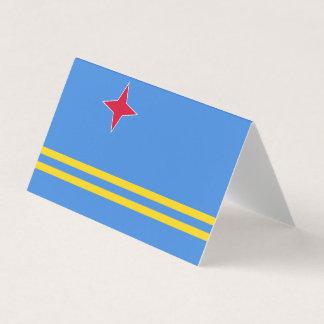 Cartão De Mesa Bandeira de Aruba