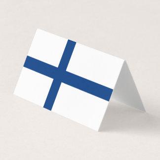 Cartão De Mesa Bandeira de Finlandia