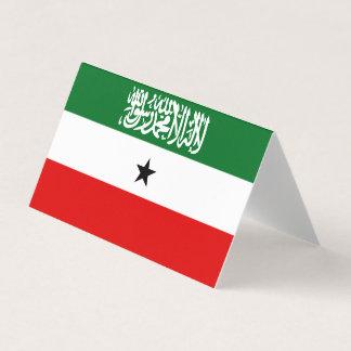Cartão De Mesa Bandeira de Somaliland