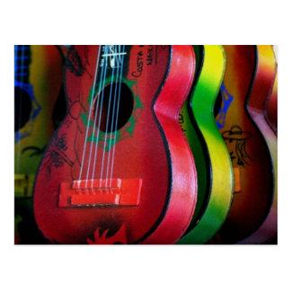 Cartão de México das guitarra do brinquedo