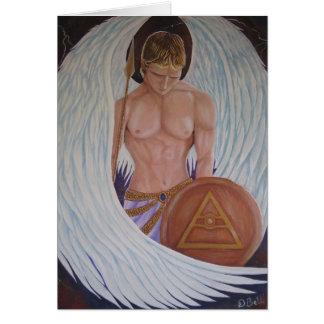 Cartão de Michael do arcanjo