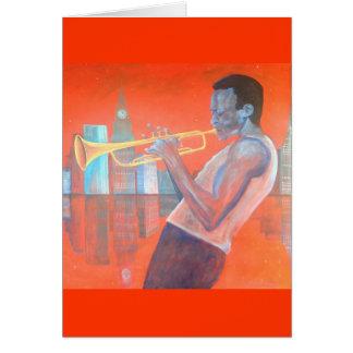 Cartão de Miles Davis