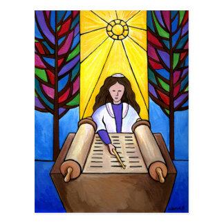 Cartão de Mitzvah do bastão