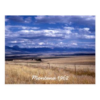 Cartão de Montana do vintage