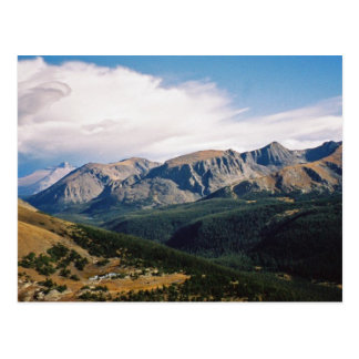 Cartão de Montanhas Rochosas