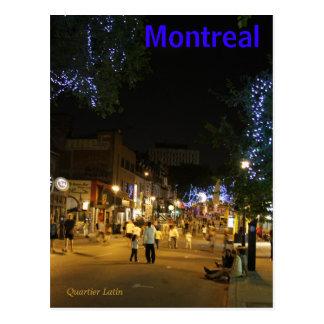 Cartão de Montreal Canadá