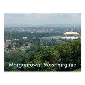 Cartão de Morgantown WV do coliseu de Evansdale