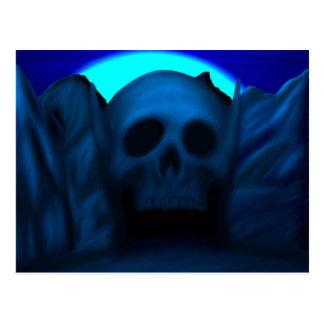 Cartão de Mountan do crânio