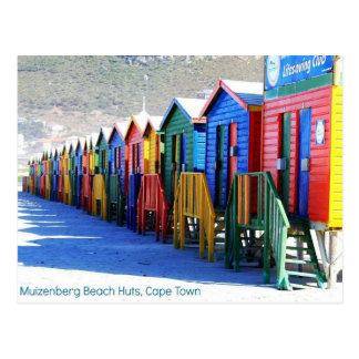 Cartão de Muizenberg, Cape Town, África do Sul