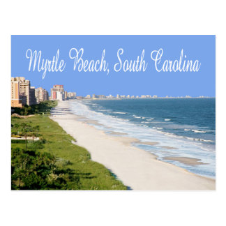 Cartão de Myrtle Beach, South Carolina