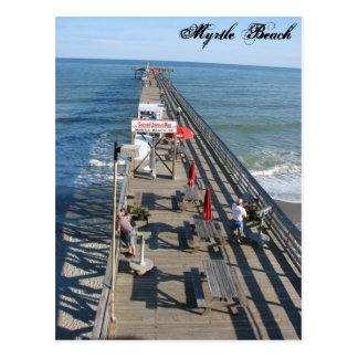 Cartão de Myrtle Beach South Carolina