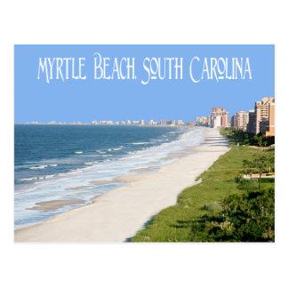 Cartão de Myrtle Beach, South Carolina, EUA