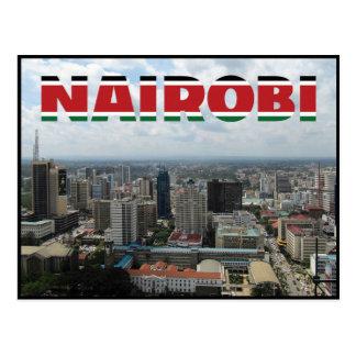 Cartão de Nairobi - de Kenya