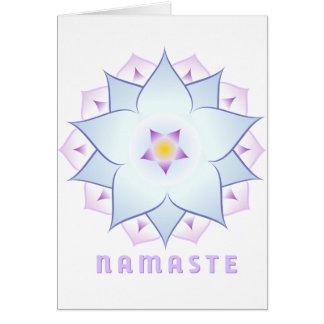 Cartão de Namaste