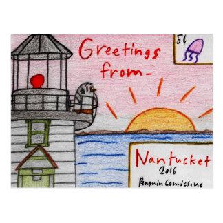 """Cartão de """"Nantucket"""""""