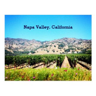 Cartão de Napa Valley, Califórnia