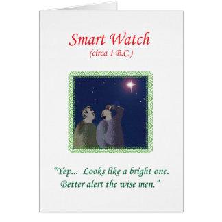 """Cartão de Natal 2013 por Qshirts -- """"Relógio"""