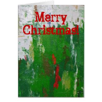 Cartão de Natal artística!
