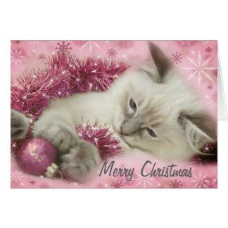 cartão de Natal bonito