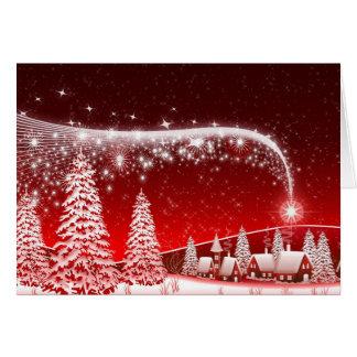 Cartão de Natal bonito da imagem de HD