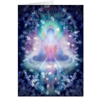 Cartão de Natal budista