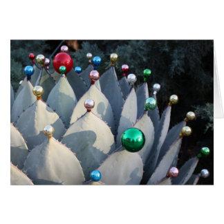Cartão de Natal da agave por Debra Lee Baldwin