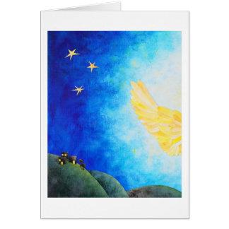 Cartão de Natal da boa notícia