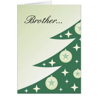 Cartão de Natal da diva para o irmão