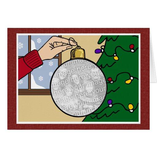 Cartão de Natal da foto