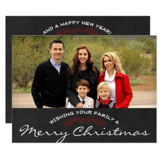 Cartão de Natal da foto do Feliz Natal