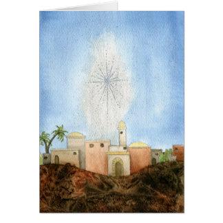 Cartão de Natal de Bethlehem