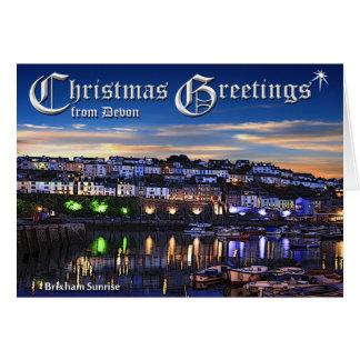 Cartão de Natal de Brixham