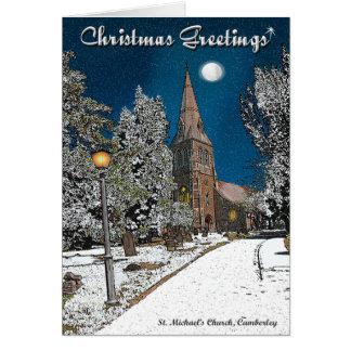 Cartão de Natal de Camberley