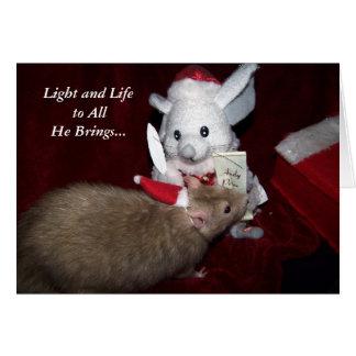 Cartão de Natal de Despereaux