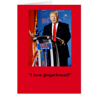 Cartão de Natal de Donald Trump