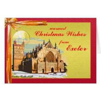 Cartão de Natal de Exeter