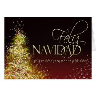 Cartão de Natal de Feliz Navidad