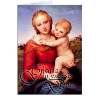 Cartão de Natal de Gloria
