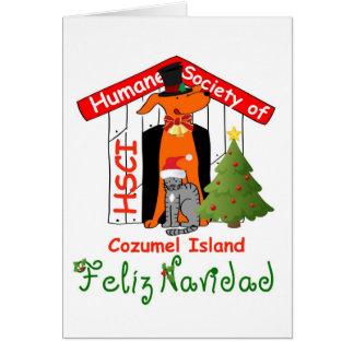 Cartão de Natal de HSCI